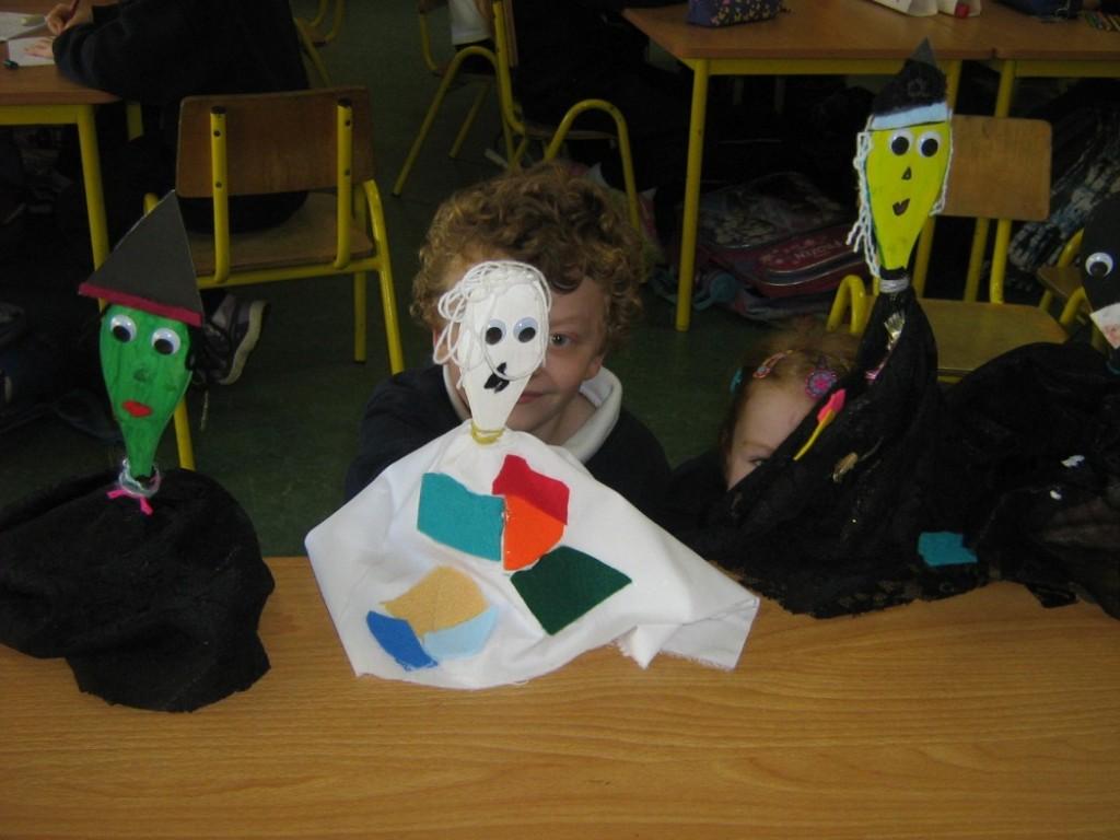 Hallowe'en Puppets